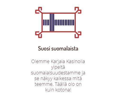 Suomalainen nettikasino Karjala Kasino