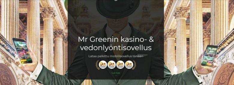 Mr Greenin mobiilisovellus